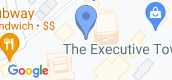 Map View of Executive Tower G