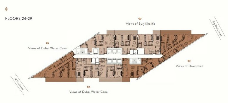 Master Plan of Marquise Square Tower - Photo 3