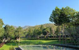 Blick auf die Berge in Chiang Mai