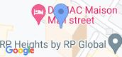 Map View of Damac Maison Mall Street