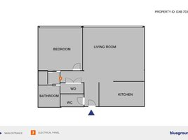 1 Bedroom Property for rent in , Dubai Building 23A