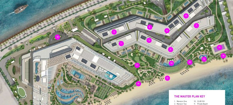 Master Plan of Mansion 8 - Photo 1