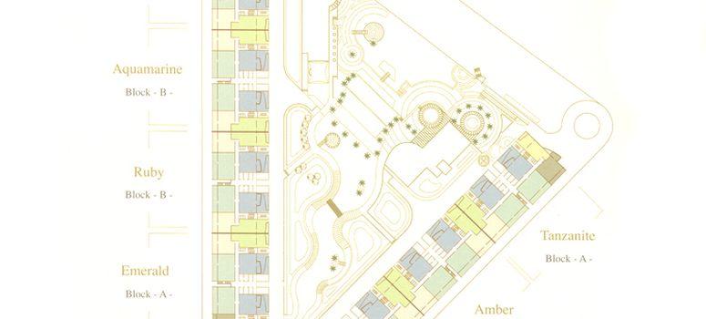 Master Plan of Aquamarine at Tiara Residences - Photo 1