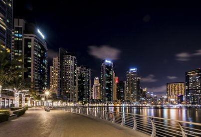 Neighborhood Overview of Marina Promenade, Dubai