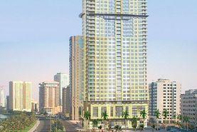 Blue Tower Real Estate Development in Al Majaz 3, Sharjah