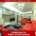 3 Bedroom Condo for rent in Star City Thanlyin, Yangon