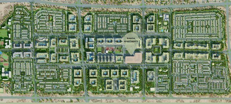 Master Plan of Rawda Apartments - Photo 1