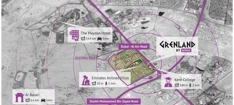 Master Plan of Grenland Residence - Photo 1