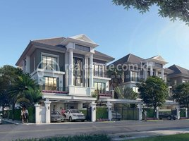 4 Bedrooms House for sale in Nirouth, Phnom Penh Twin Villa B for Sale in Euro Ville