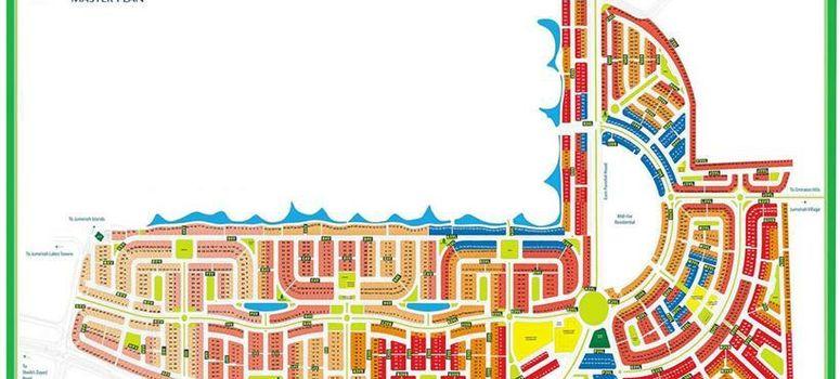 Master Plan of Jumeirah Park Homes - Photo 1