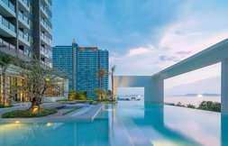 Close to the beach in Pattaya