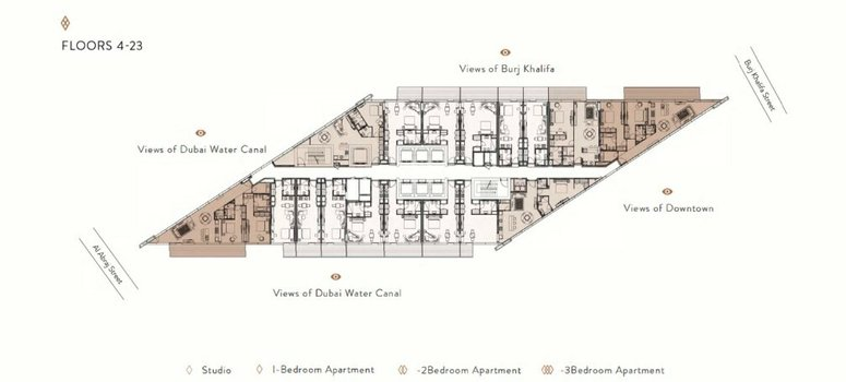 Master Plan of Marquise Square Tower - Photo 2