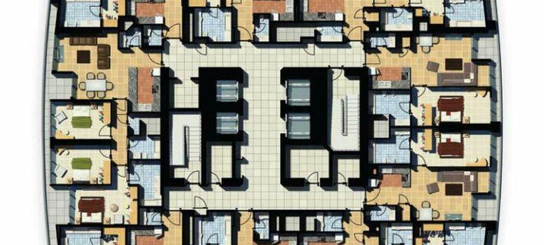 Master Plan of Damac Maison Mall Street - Photo 1