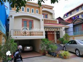 金边 Tuek Thla Good villa for sale 5 卧室 别墅 售