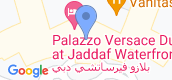 Map View of Palazzo Versace