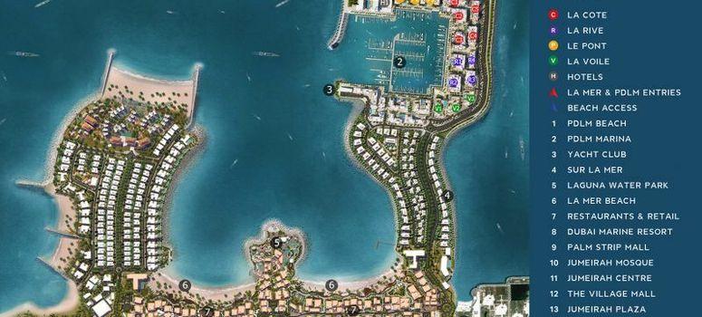 Master Plan of Port de La Mer - Photo 1