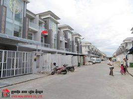 金边 Tuek Thla Linkhouse For Rent 3 卧室 联排别墅 租