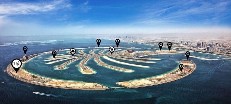 Master Plan of The 8 at Palm Jumeirah - Photo 1