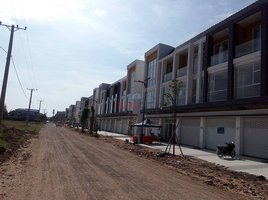 4 Bedrooms Property for rent in Chrouy Changvar, Phnom Penh Shop House-D for Rent in Borey The Flora Bak Keang