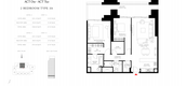 Unit Floor Plans of Act One   Act Two towers