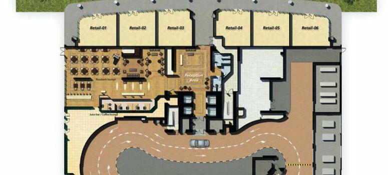 Master Plan of Damac Maison Mall Street - Photo 2