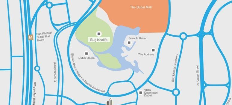 Master Plan of Bahwan Tower Downtown - Photo 1