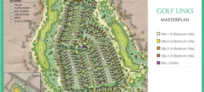 Master Plan of Golf Links - Photo 1