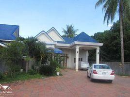 4 Bedrooms Villa for sale in Veal Sbov, Phnom Penh Land For Sale with Villa in Chbar Ampov