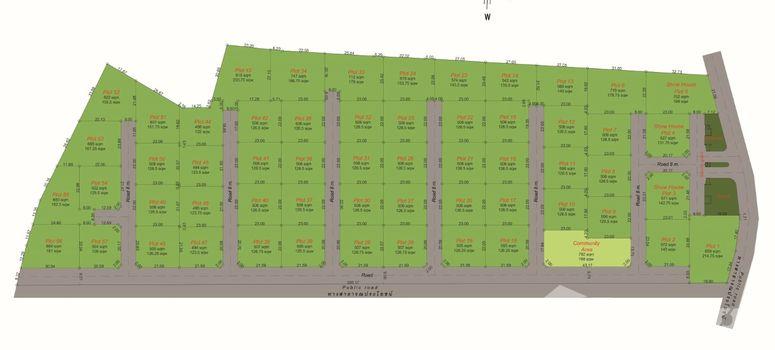 Master Plan of Mali Lotus Villas - Photo 1