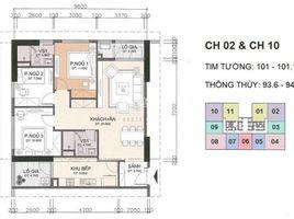 Studio Condo for sale in Yen Hoa, Hanoi A10-A14 Nam Trung Yên