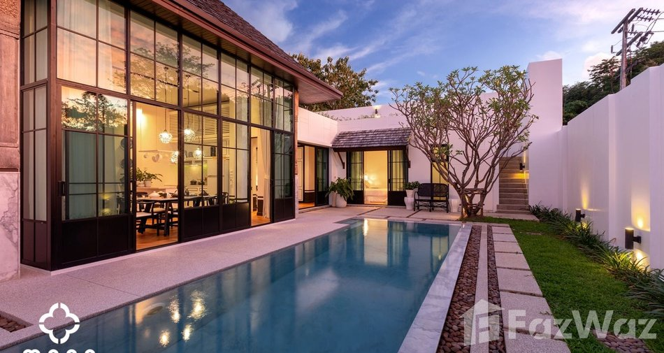 The cheapest residential projects in Bangkok - Mono Luxury Villa Pasak