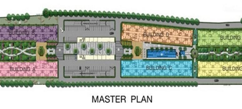 Master Plan of Icondo Sukhumvit 105 - Photo 1