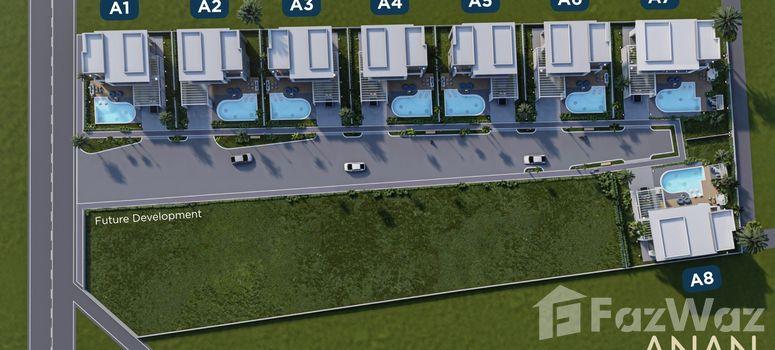 Master Plan of ANAN Exclusive Resort Villa HuaHin - Photo 1