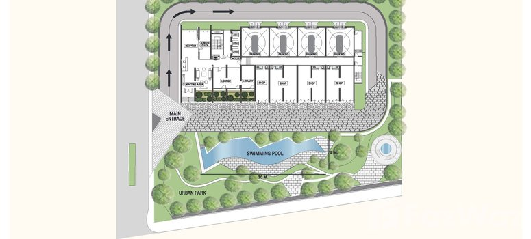 Master Plan of A Space I.D. Asoke-Ratchada - Photo 1
