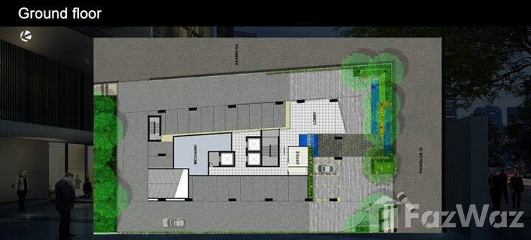 Master Plan of The Alcove Thonglor 10 - Photo 1