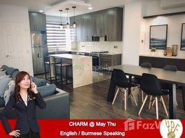Yangon Thingangyun 3 Bedroom Townhouse for rent in Bahan, Yangon 3 卧室 联排别墅 租