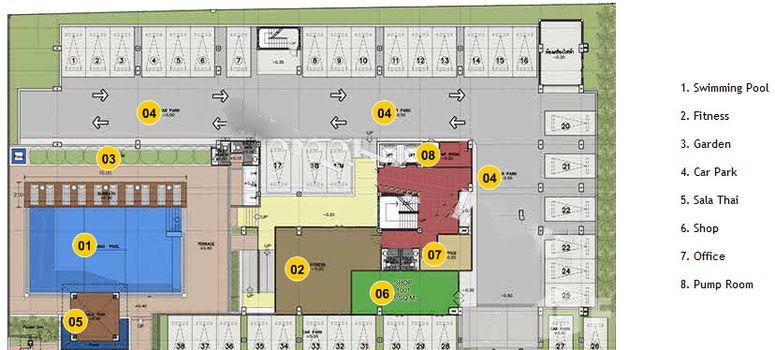 Master Plan of Jomtien Beach Penthouses - Photo 1