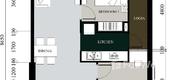 Unit Floor Plans of La Cosmo Residence