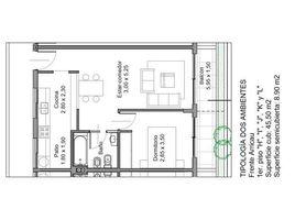 """1 Habitación Apartamento en venta en , Buenos Aires Av. Angel T. de Alvear 200 // Primer Piso """"J"""""""