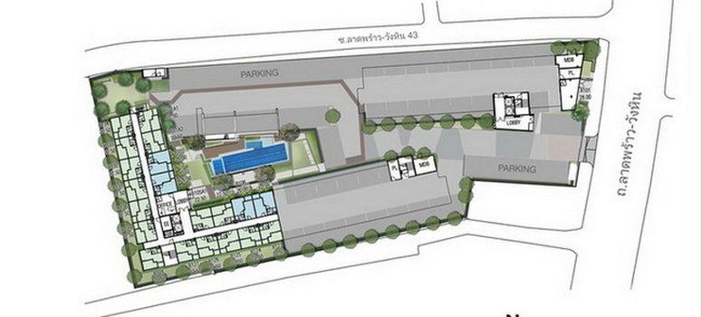 Master Plan of The Privacy Ladprao - Sena - Photo 1