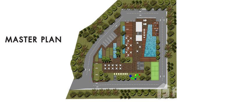 Master Plan of City Garden Tower - Photo 1
