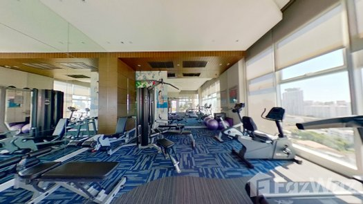 3D Walkthrough of the Communal Gym at Capital Residence