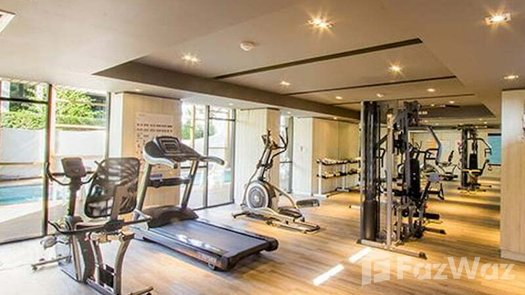 3D Walkthrough of the Communal Gym at Palm Springs Nimman (Parlor)