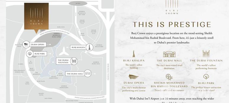 Master Plan of Burj Crown - Photo 1
