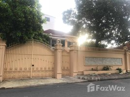 4 Bedrooms Villa for rent in Boeng Keng Kang Ti Bei, Phnom Penh Villa For Rent in Chamkamorn Area, 4 Bedrooms, $3,000/m ផ្ទះវីឡាសំរាប់ជួលនៅតំបន់ចំការមន ៤ បន្ទប់គែង តម្លៃ $3,000/ខែ