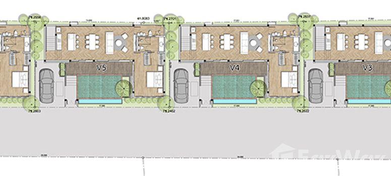 Master Plan of Alisa Pool Villa - Photo 1