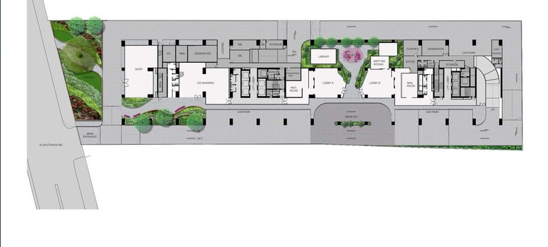 Master Plan of XT Phayathai - Photo 1