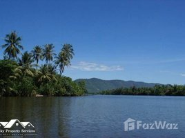 N/A Land for sale in Andoung Khmer, Kampot Land for Sale next to the River in Kampot