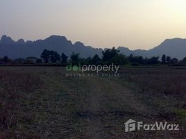N/A Land for sale in , Vientiane Land in Vangvieng for sale