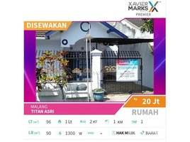 2 Bedrooms House for sale in Pulo Aceh, Aceh Titan Asri Malang, Malang, Jawa Timur